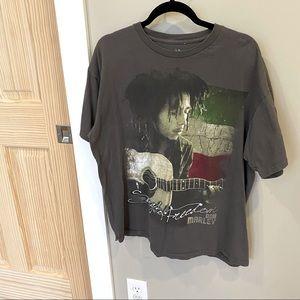 Bob Marley Stretch Cotton T-Shirt XL